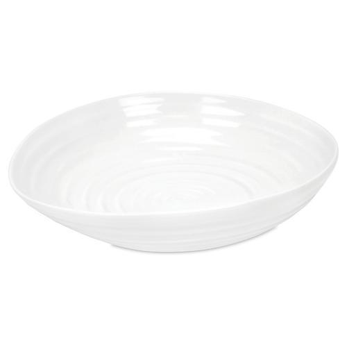 S/4 Porcelain Pasta Bowl, White