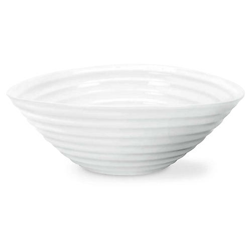 S/4 Sophie Conran May Cereal Bowls, White