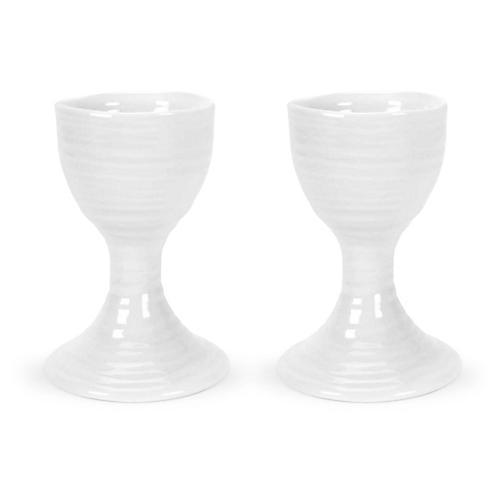 S/2 Sophie Conran Hugon Egg Cups, White