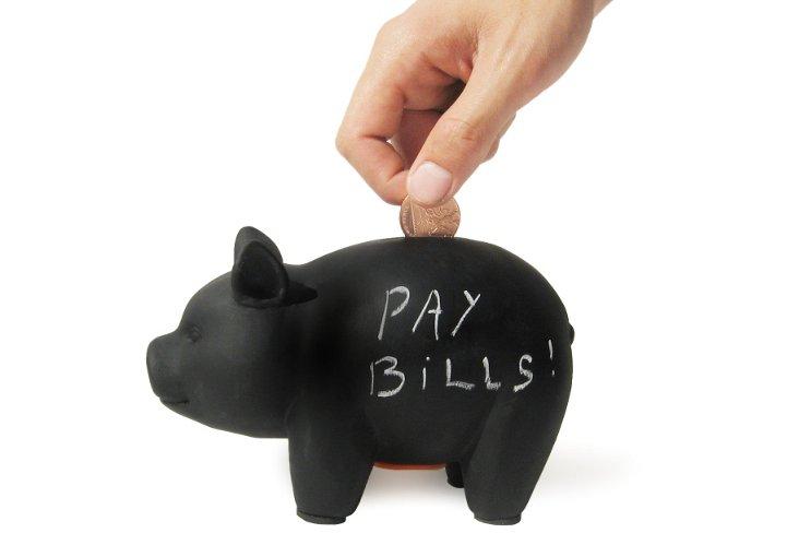 Blackboard Piggy Bank