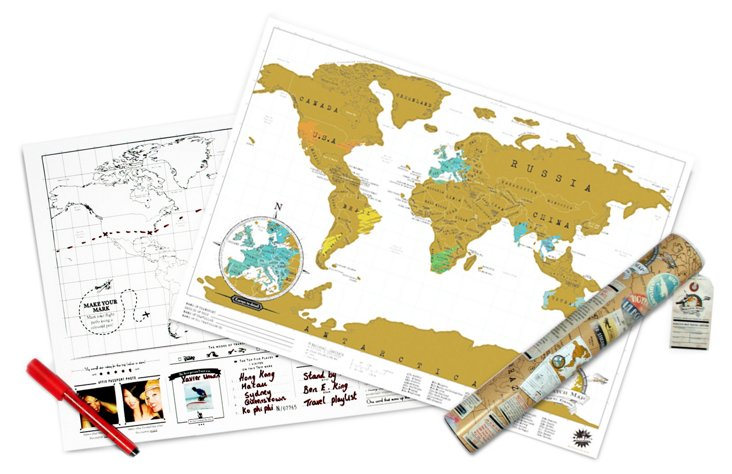 Scratch Map Travel Edition (US)