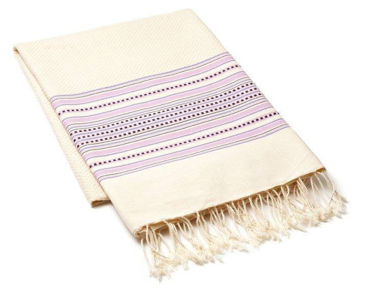 Amarante Fouta Towel, Violet