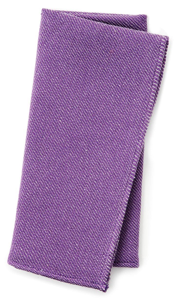 Set of 6 Napkins, Purple