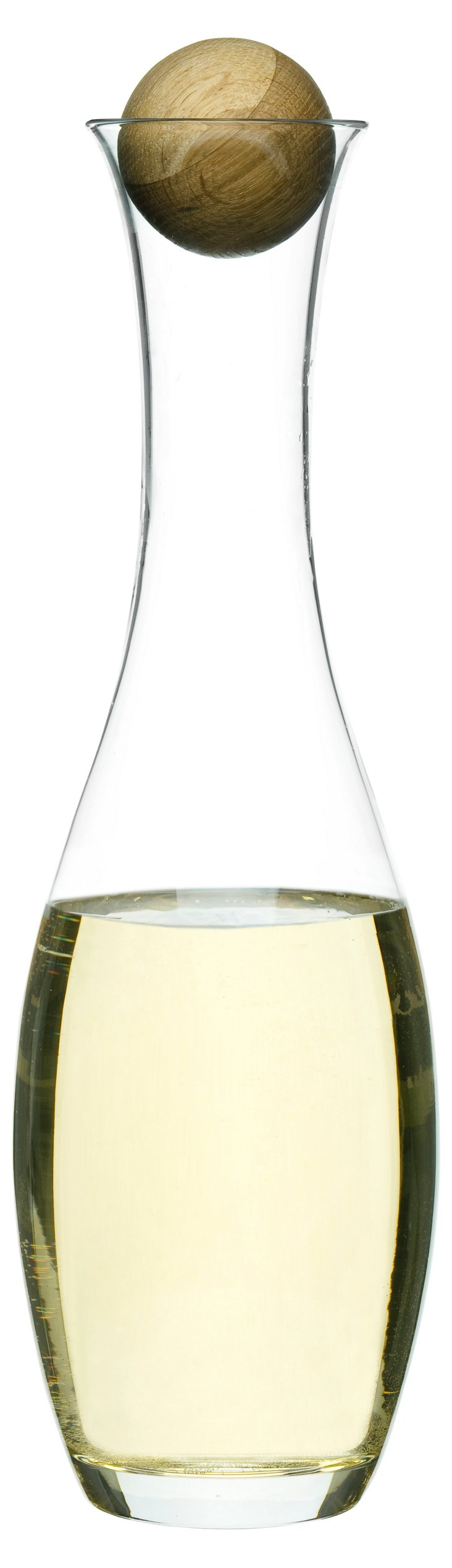 Wine/Water Carafe w/ Oak Stopper