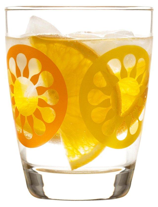 S/4 Juicy Glasses, Orange
