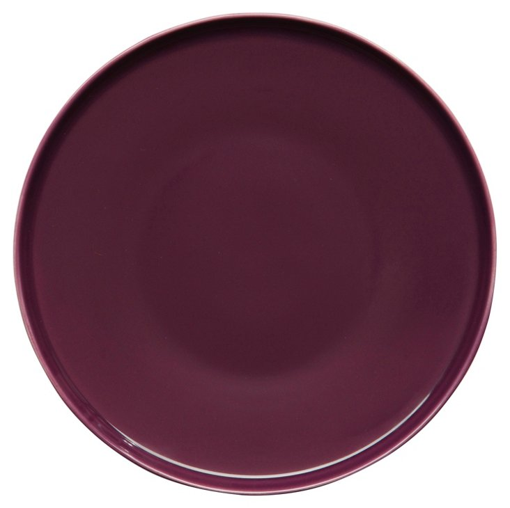 S/6 POP Side Plates, Plum