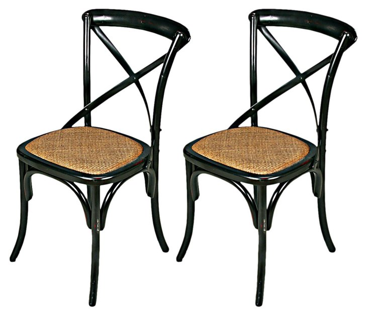 Smith Side Chairs, Pair