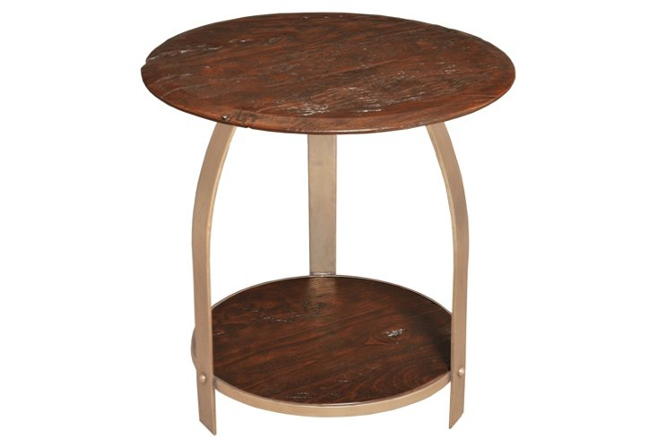 Marina Two-Tier Side Table