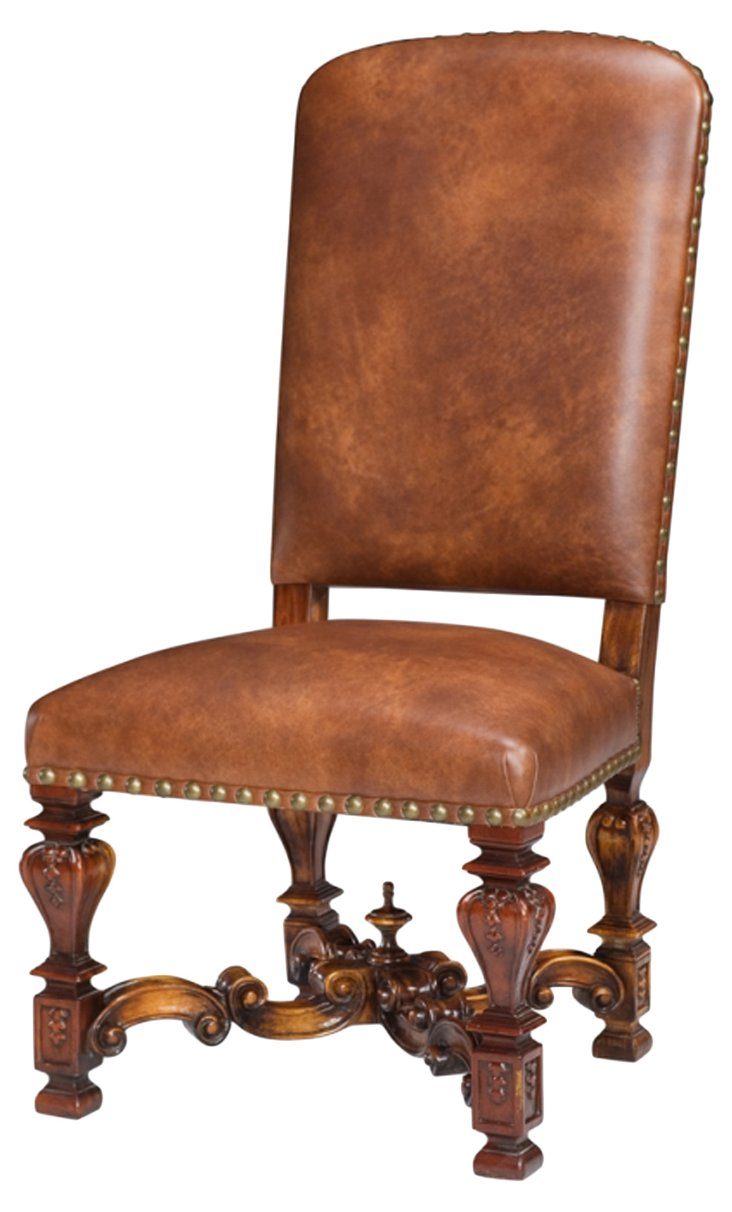 DNUToliver Side Chair