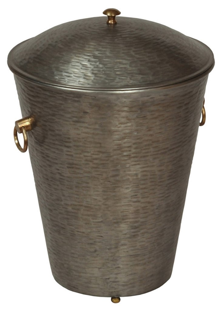 Iron Covered Container
