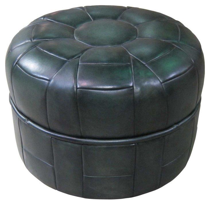 Boyle Ottoman, Dark Jade