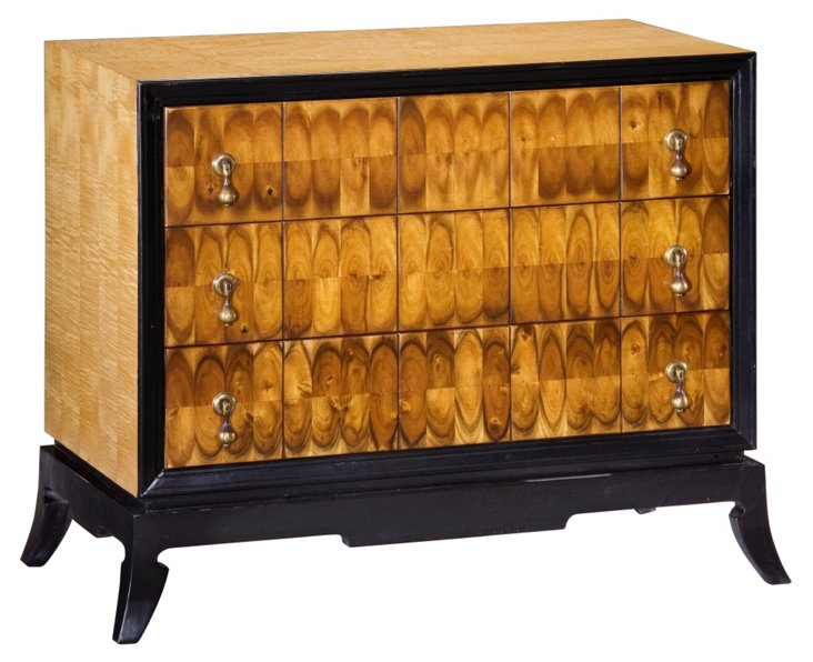 DNU,O, Disc, Hamilton 3-Drawer Chest