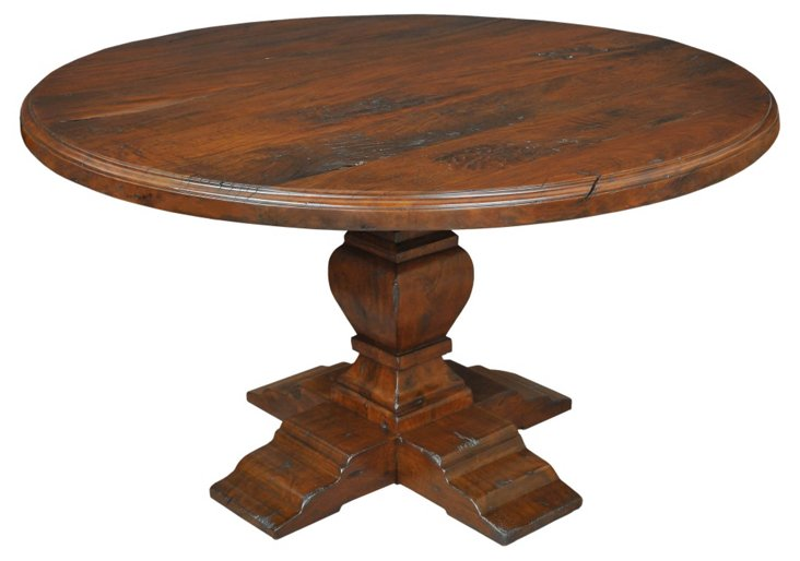 "Avesta 54"" Round Dining Table, Coffee"