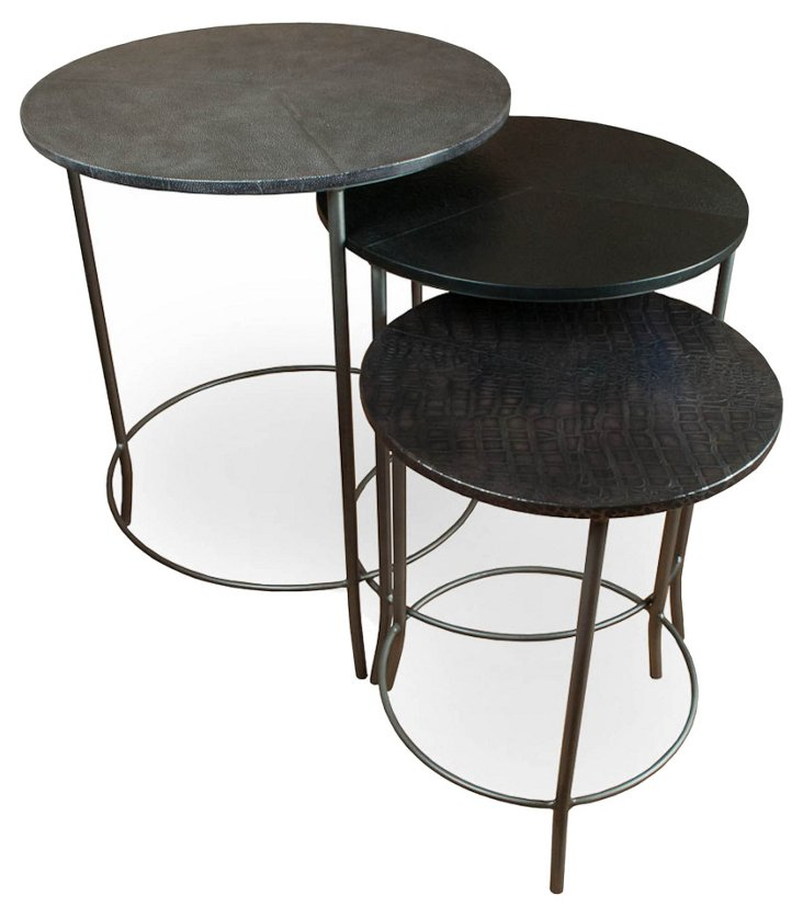 Wellfleet Nesting Tables, Set of 3