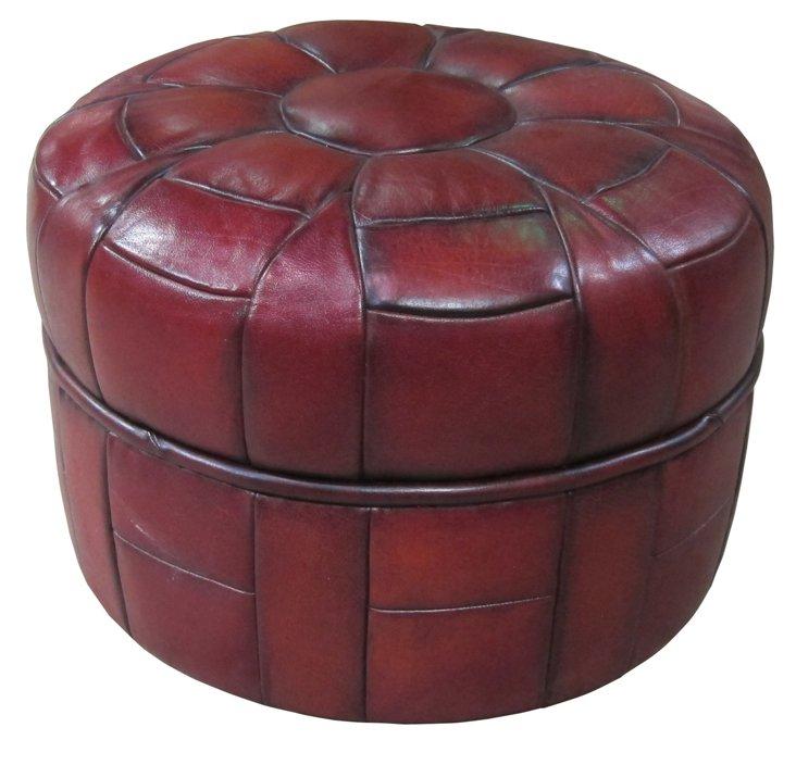 Pumpkin Stool , Brick Red
