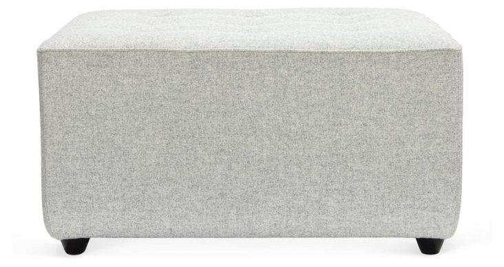 Oslo Footrest, Stone Gray