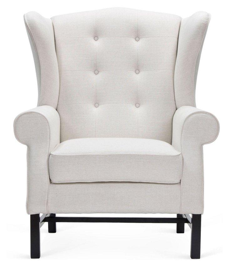 Gothenburg Chair, Cream