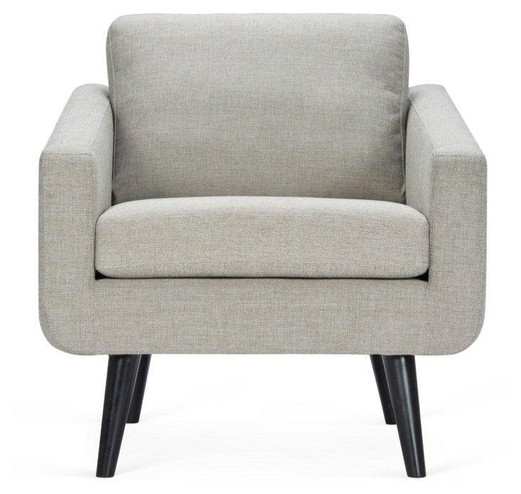 Danish Chair, Gray