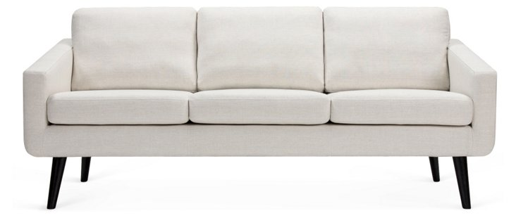 Danish Sofa, Cream
