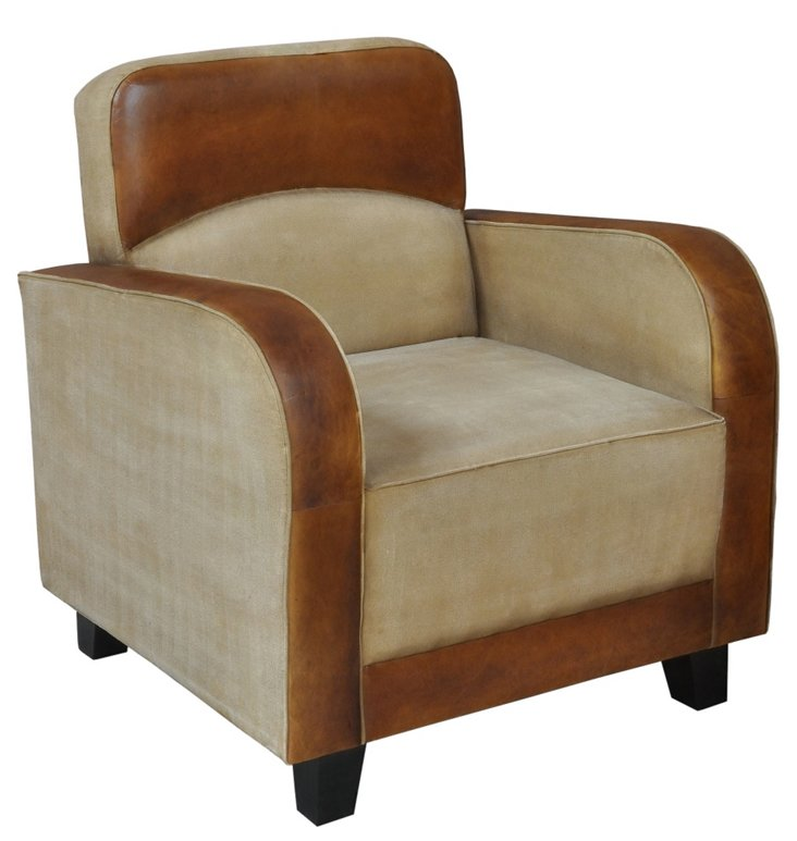 DNU,OFrancis Lounge Chair, Sand