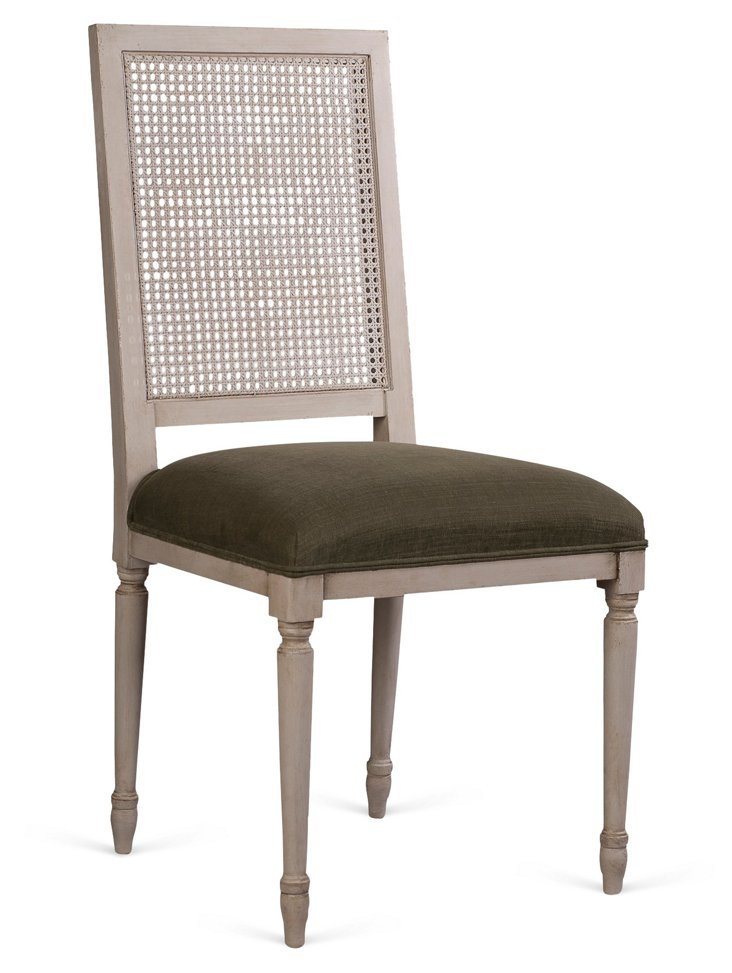 Conlee Cane-Back Chair