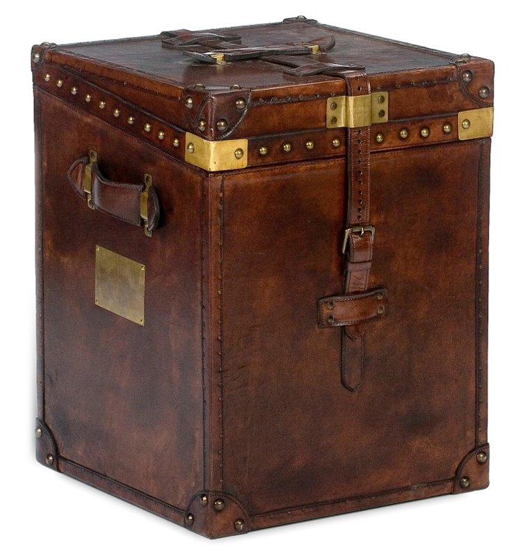 Fleming Trunk Side Table