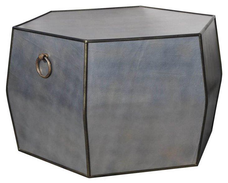 "Raymond 36"" Coffee Table, Silver"