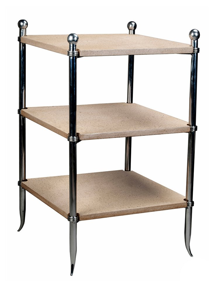 Emily Three-Tier Side Table