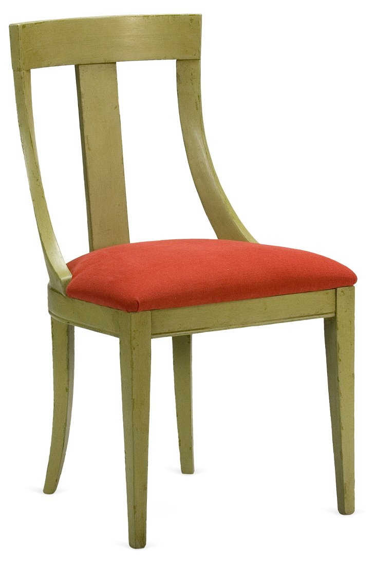 Ann Side Chair, Red