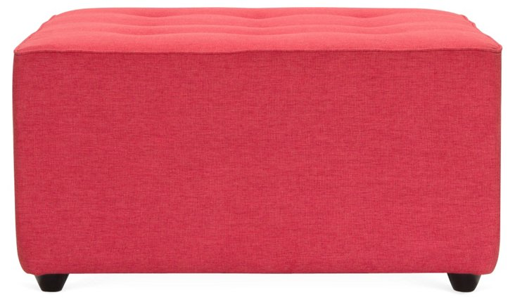 Brittany Ottoman, Red
