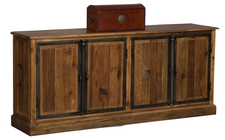 4-Door Sideboard, Old Fir