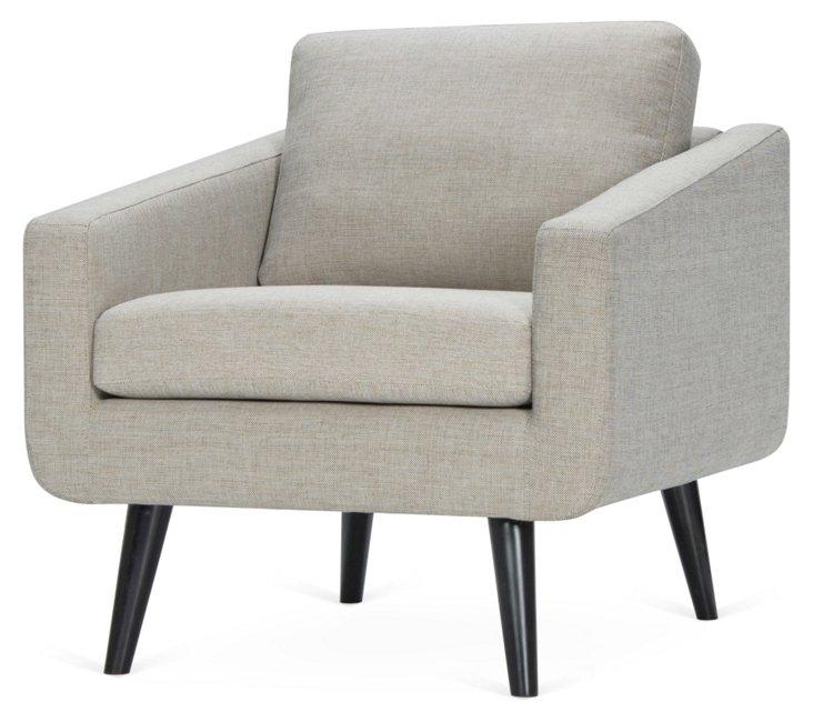 Danish Chair, Heathered Gray