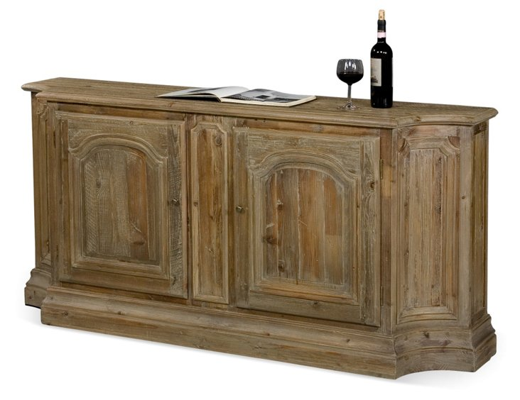 "Ambrose 71"" Weathered Sideboard, Fir"