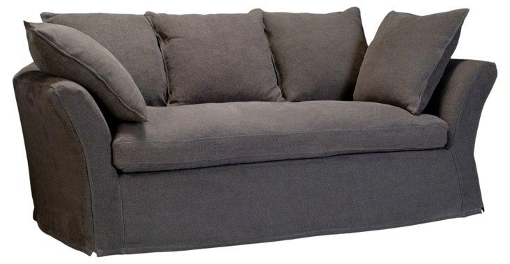 """Bel Air 76"""" Sofa, Gray"""