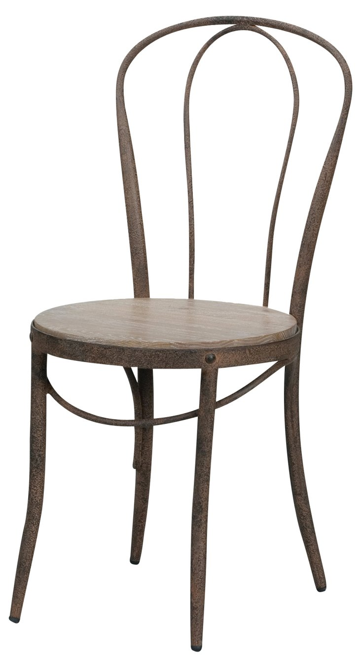 Jefferson Cafe Chairs, Pair