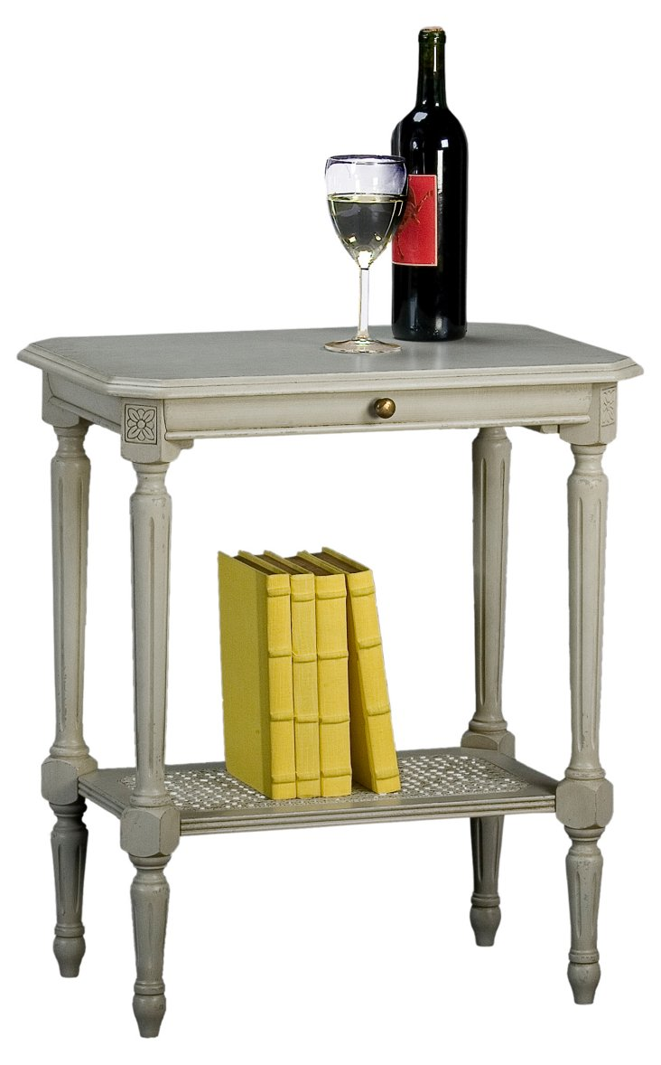 Louis XVI Table, Gray