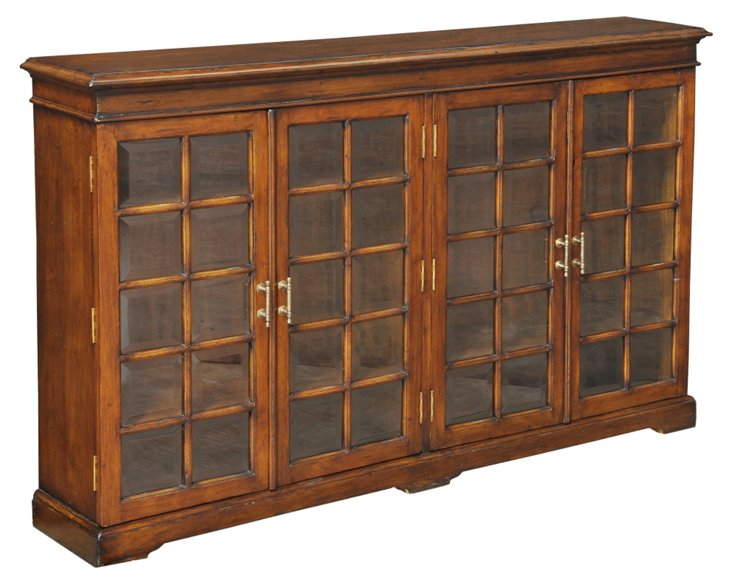Carmel-By-The-Sea Bookcase, Cognac