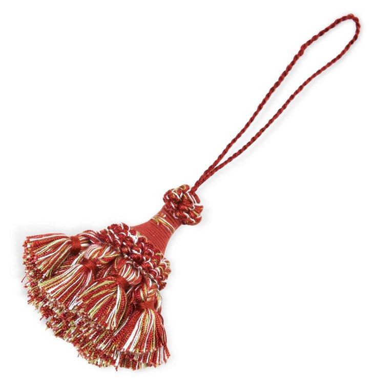 Soliste Key Tassel, Red
