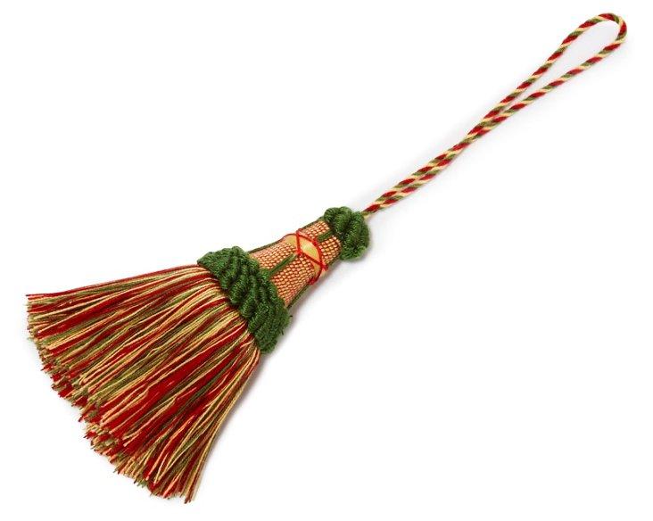 Escorial Key Tassel, Red