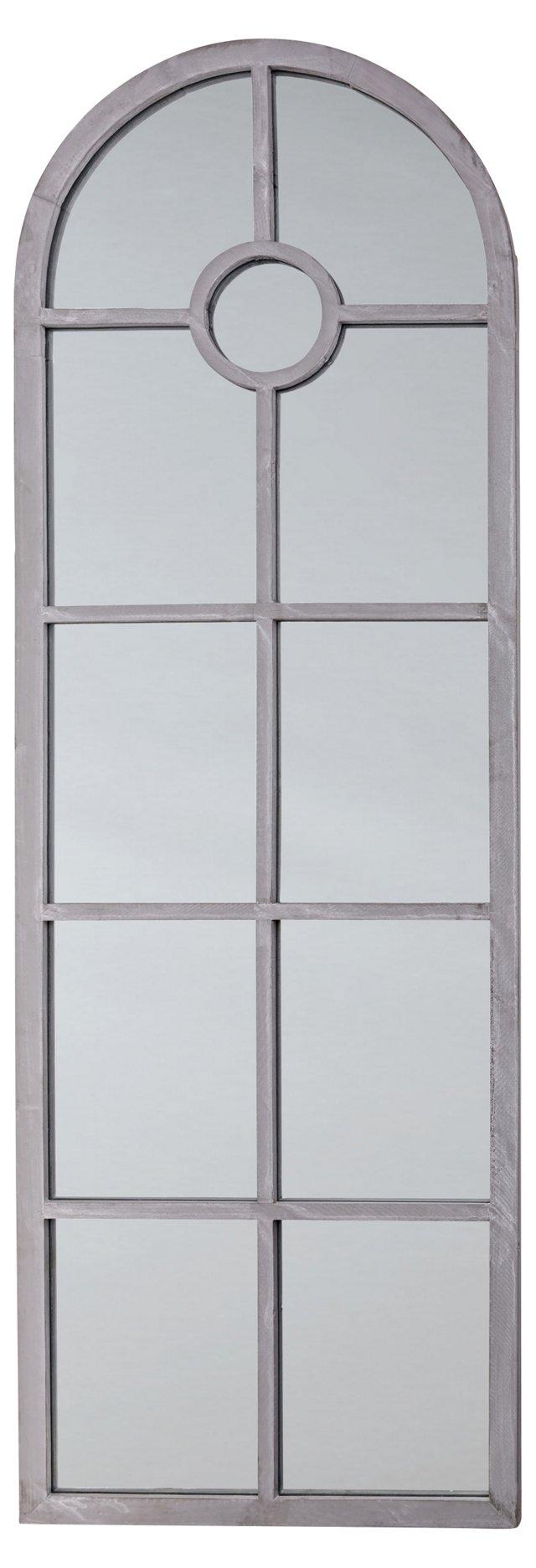Rosen Floor Mirror, Gray