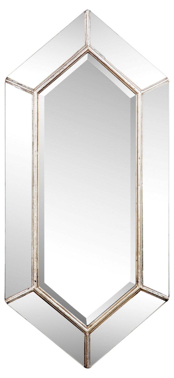 Francine Diamond Mirror