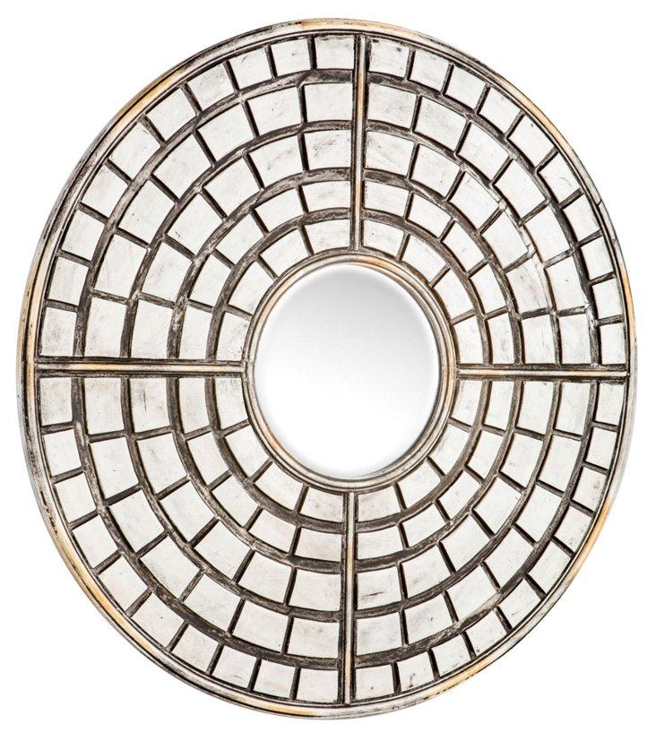 Jiya Tiled Mirror