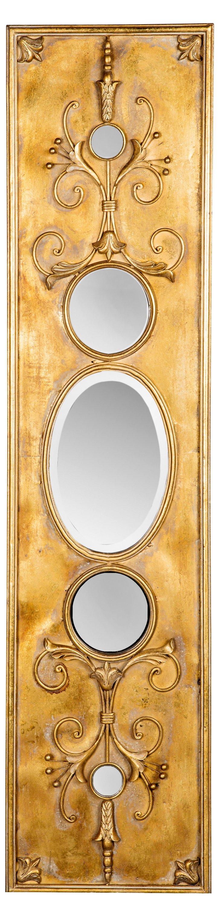 Marabelle Oversize Mirror, Gold