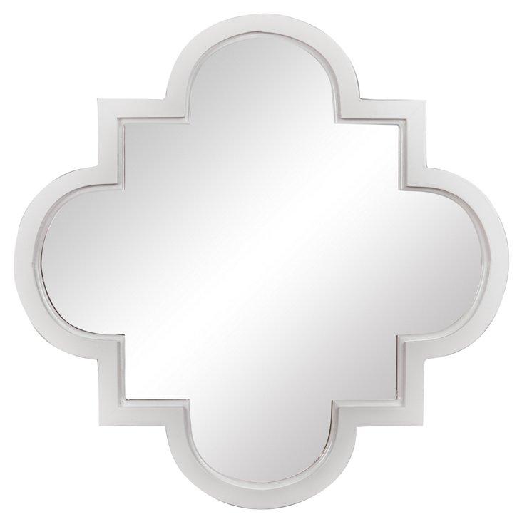 Tissa Wall Mirror, White