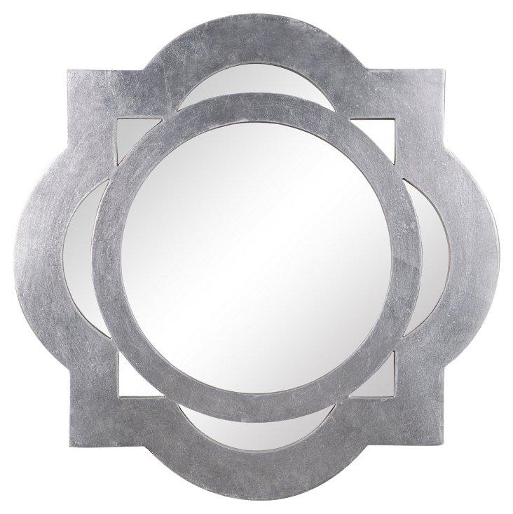 Tangier Wall Mirror, Silver