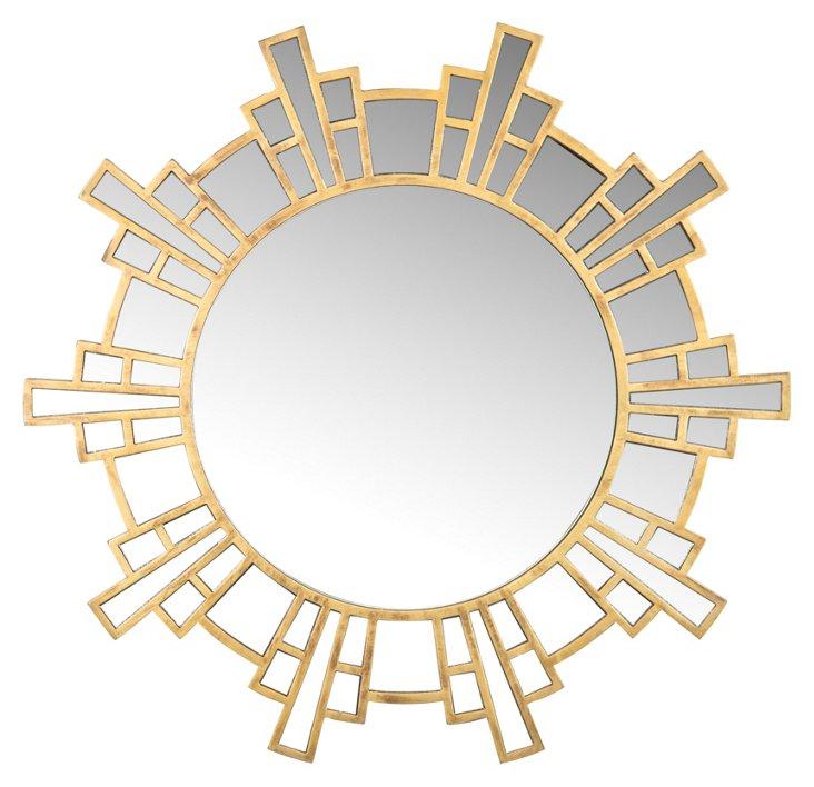 Tina Wall Mirror, Gold