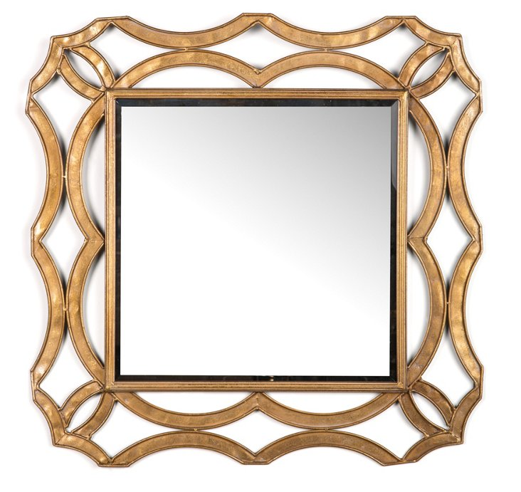 Royal Wall Mirror, Gold