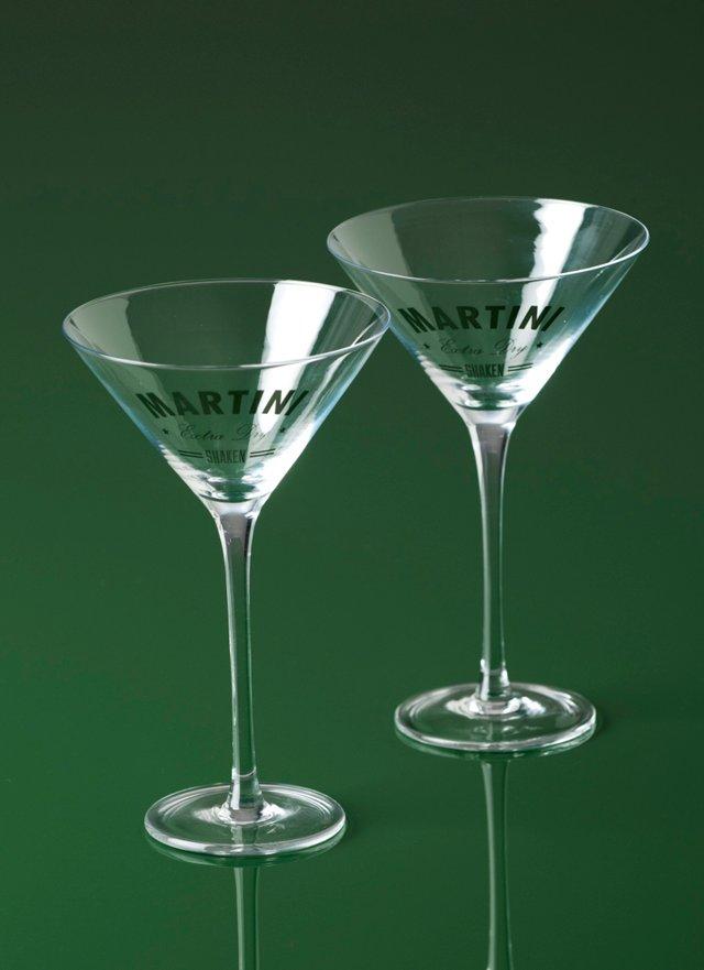 S/2 Martini Glasses