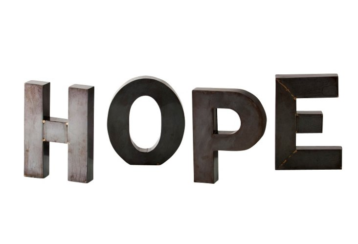 Hope Display Letters