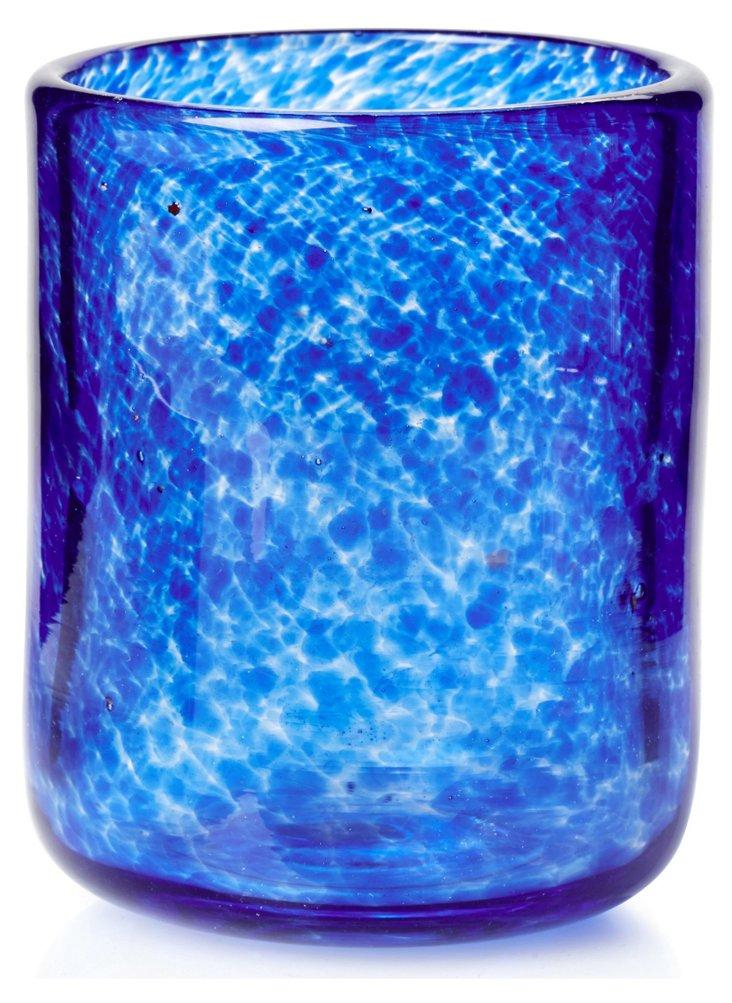 S/4 Swirled DOF Glasses, Blue